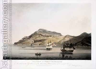 View of Fort Charlotte in the Island of St. Vincent by (after) Billinghurst, Joseph - Reproduction Oil Painting