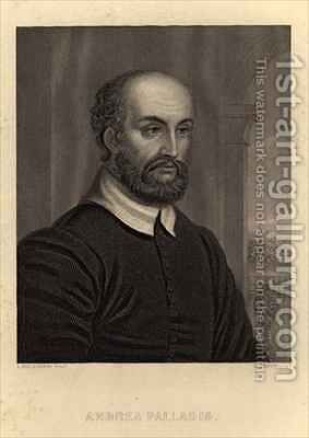 Andrea Palladio (1508-80) by Bigleoschi, L. - Reproduction Oil Painting