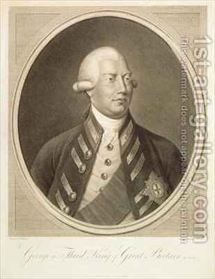 George III, King of Great Britain by (after) Berczy, William - Reproduction Oil Painting