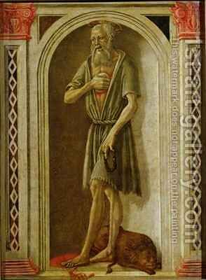 St. Jerome by Benvenuto di Giovanni - Reproduction Oil Painting