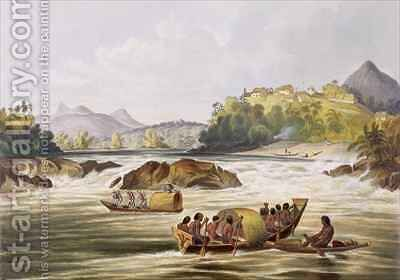 Brazilian Fort St. Gabriel on the Rio Negro by (after) Bentley, Charles - Reproduction Oil Painting