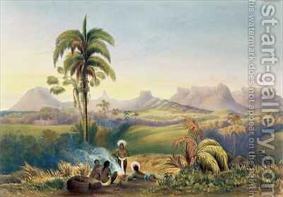 Roraima, a Remarkable Range of Sandstone Mountains in Guiana by (after) Bentley, Charles - Reproduction Oil Painting