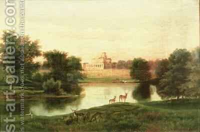 Stoke Park by Edmund Birckhead Bensell - Reproduction Oil Painting