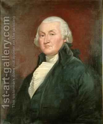 John Barclay (1749-1824) after the original by Gilbert Stuart (1755-1828) by Augustus J. Beck - Reproduction Oil Painting