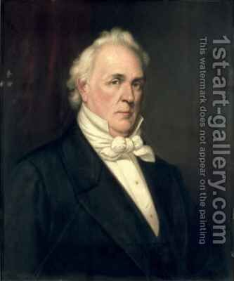 James Buchanan by Augustus J. Beck - Reproduction Oil Painting