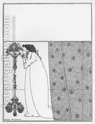 Cover Design for 'The Savoy' by Aubrey Vincent Beardsley - Reproduction Oil Painting