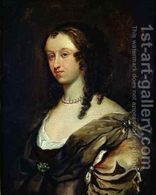 Portrait of Aphra Behn (1640-89) by Mary Beale - Reproduction Oil Painting