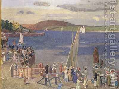 Padstow Regatta by Alfred Walter Bayes - Reproduction Oil Painting