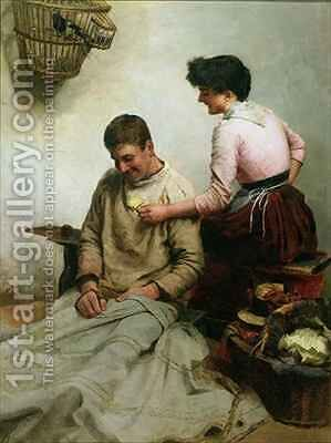 Marriage by Arthur Bateman - Reproduction Oil Painting