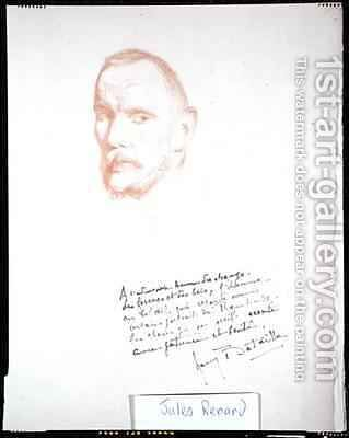 Jules Renard (1864-1910) by Henry Bataille - Reproduction Oil Painting