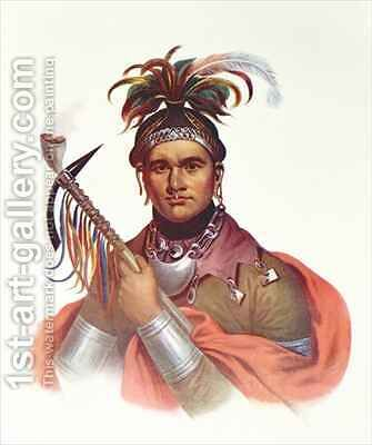 Ki-On-Twog-Ky or 'Complanter', a Seneca Chief by (after) Bartoli, F. - Reproduction Oil Painting