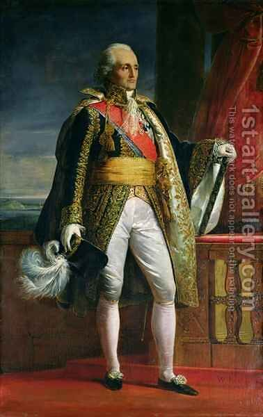 Bon Adrien Jeannot de Moncey (1754-1842) Duc de Conegliano by Jacques Luc Barbier-Walbonne - Reproduction Oil Painting