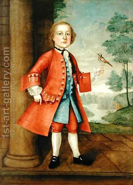 Portrait of John Gerry (1741-86) by Jacob Badger - Reproduction Oil Painting