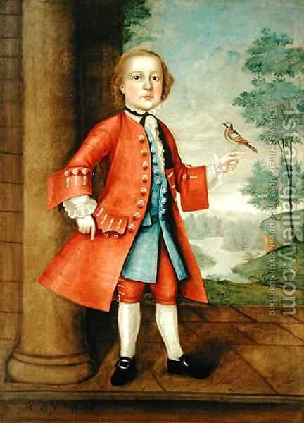 Portrait of John Gerry (1741-86) 2 by Jacob Badger - Reproduction Oil Painting