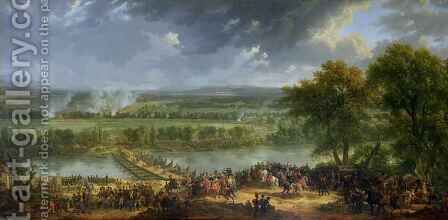 Battle of Pont d'Arcole by Baron Louis Albert Bacler d'Albe - Reproduction Oil Painting