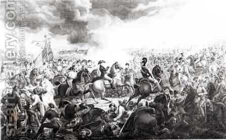Wellington at the Battle of Waterloo by (after) Atkinson, John Augustus - Reproduction Oil Painting