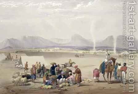 The City of Candahar, from 'Sketches in Afghaunistan' by (after) Atkinson, James - Reproduction Oil Painting