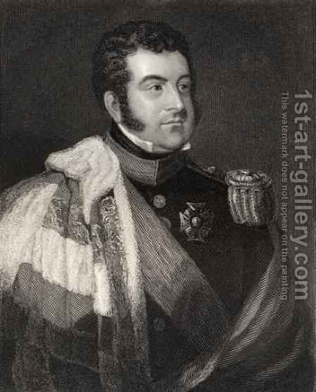 George Augustus Frederick Fitzclarence, 1st Earl of Munster by (after) Atkinson, James - Reproduction Oil Painting