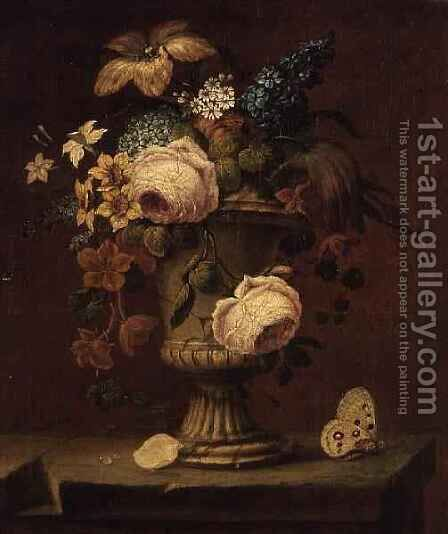 Still Life by Astruc de Vissec - Reproduction Oil Painting