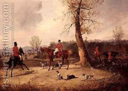 The Meet by Henry Thomas Alken - Reproduction Oil Painting