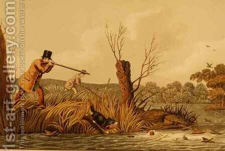 Flacker Shooting by Henry Thomas Alken - Reproduction Oil Painting