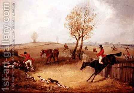 The Kill 3 by Henry Thomas Alken - Reproduction Oil Painting