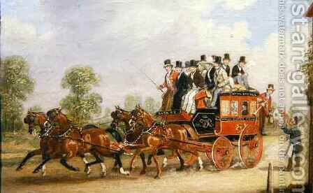 Coaching Scene 2 by Henry Thomas Alken - Reproduction Oil Painting