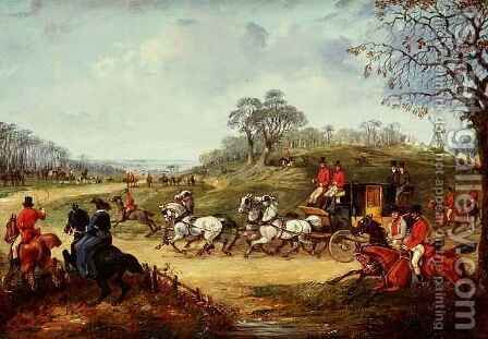 Going to the Meet 2 by Henry Thomas Alken - Reproduction Oil Painting