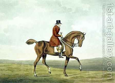 A Meltonian, As He Was, from 'The Meltonians' by (after) Henry Alken - Reproduction Oil Painting