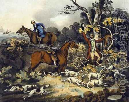 The Death, from 'Fox Hunting' by (after) Henry Alken - Reproduction Oil Painting