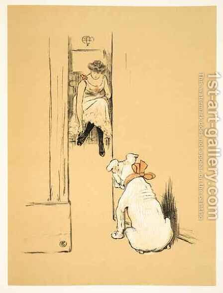 My Mistress Dressing, From 'A Gay Dog, Story of a Foolish Year' by Cecil Charles Aldin - Reproduction Oil Painting