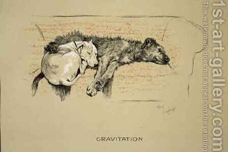 Gravitation by Cecil Charles Aldin - Reproduction Oil Painting