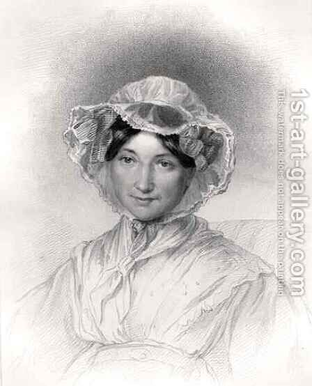 Frances Trollope by (after) Adams, Lucy - Reproduction Oil Painting