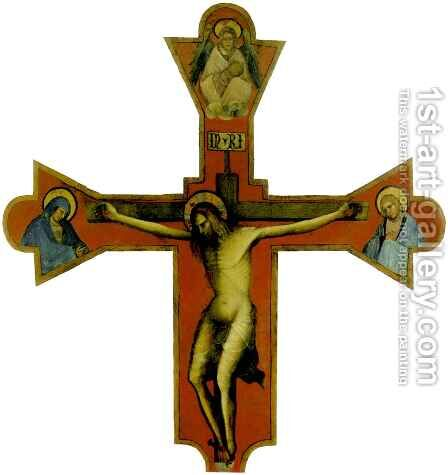 Crucifix by Blaz Jurjev Trogiranin - Reproduction Oil Painting