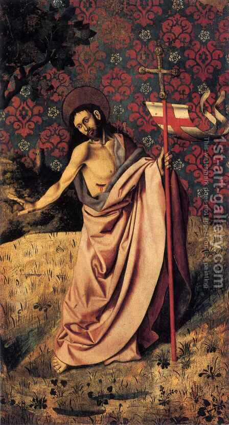 Christ of Noli me Tangere, reverse of Jeremy by Barthelemy d' Eyck - Reproduction Oil Painting