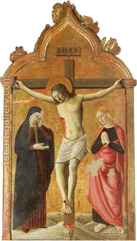 Crucifixion 2 by Girolamo Giovanni - Reproduction Oil Painting