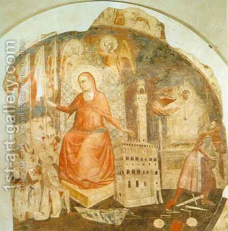 Saint Anne by Jacopo di Cione - Reproduction Oil Painting