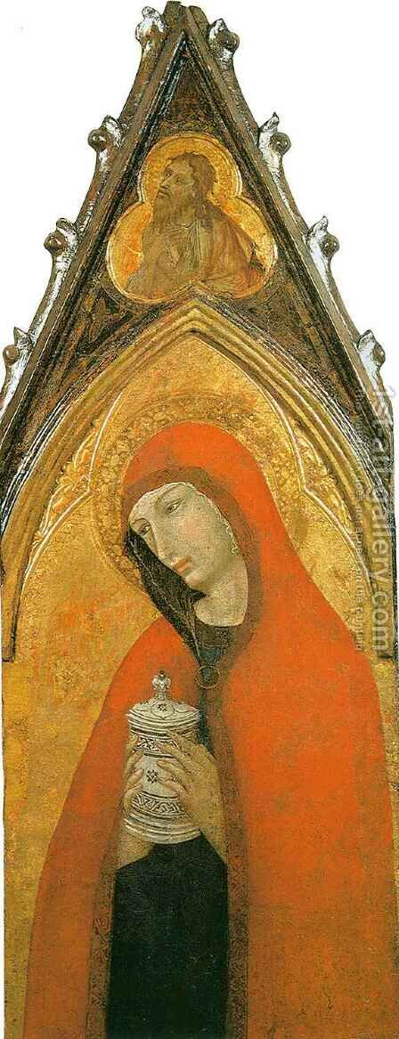 Saint Mary Magdalene by Ambrogio Lorenzetti - Reproduction Oil Painting