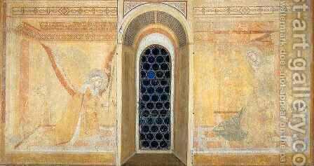 Annunciation 2 by Ambrogio Lorenzetti - Reproduction Oil Painting