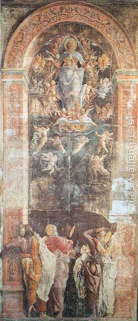 Assumption of the Virgin by Andrea Mantegna - Reproduction Oil Painting