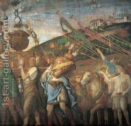 Triumphs of Caesar 2 by Andrea Mantegna - Reproduction Oil Painting