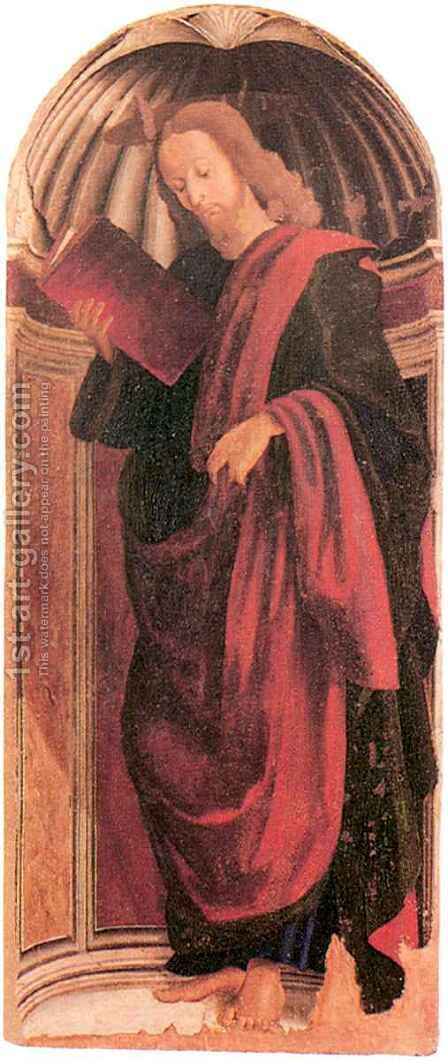 Apostle by Giovanni Santi or Sanzio - Reproduction Oil Painting