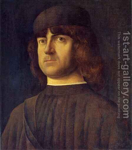 Portrait of a Man by Alvise Vivarini - Reproduction Oil Painting