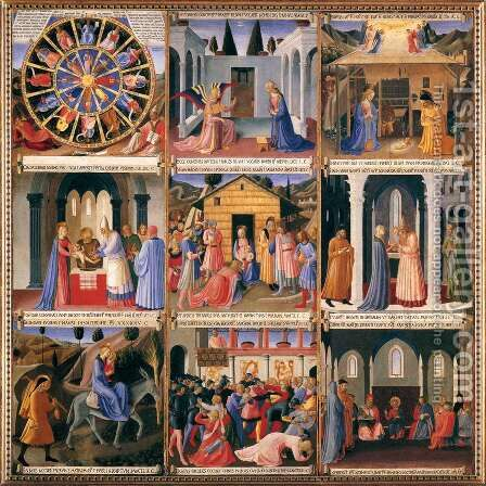 Scenes from the Life of Christ by Angelico Fra - Reproduction Oil Painting