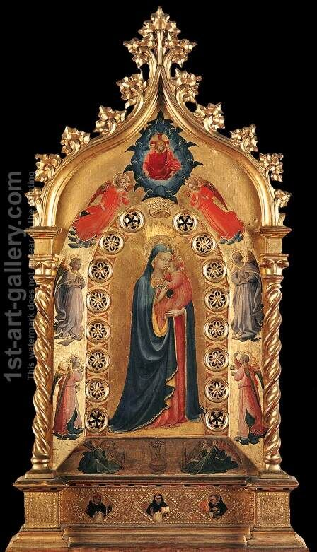 Madonna of the Star by Angelico Fra - Reproduction Oil Painting