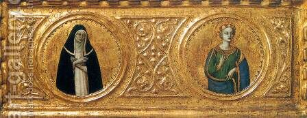 Predella of the St Peter Martyr Altarpiece (detail) 3 by Angelico Fra - Reproduction Oil Painting