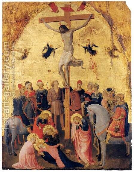 Crucifixion by Angelico Fra - Reproduction Oil Painting