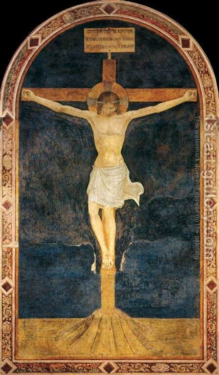Crucified Christ by Angelico Fra - Reproduction Oil Painting