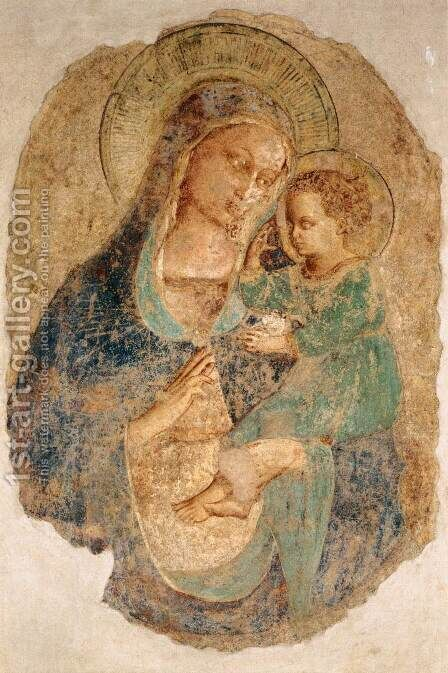 Madonna and Child 3 by Angelico Fra - Reproduction Oil Painting