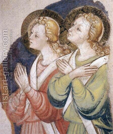 Angels by Bicci Di Lorenzo - Reproduction Oil Painting